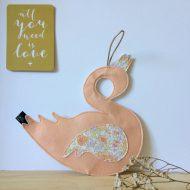 cygne pêche