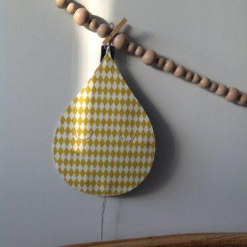 Veilleuse réversible Larme de Joie moutarde