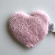bouillotte coeur rose dos