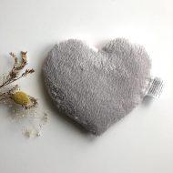 coeur dos gris clair
