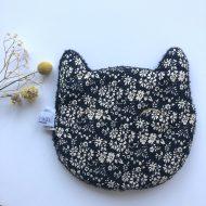 Bouillotte chat esprit lib noir