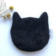 Bouillotte chat esprit lib noir dos noir