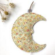Lune profil liberty jaune