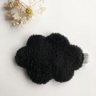 nuage dos noirs fourrure