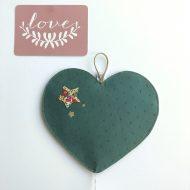 veilleuse coeur vert