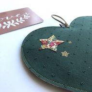 veilleuse coeur vert détail