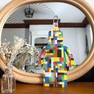 lego brique posé